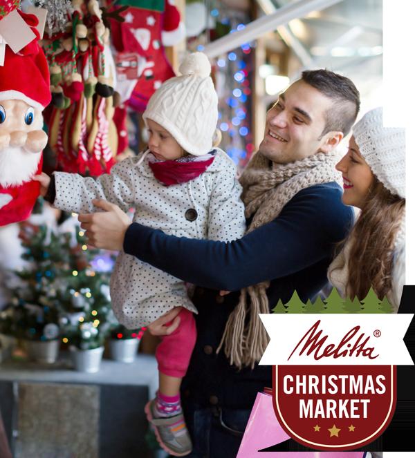 A photo of the Melitta Christmas Market