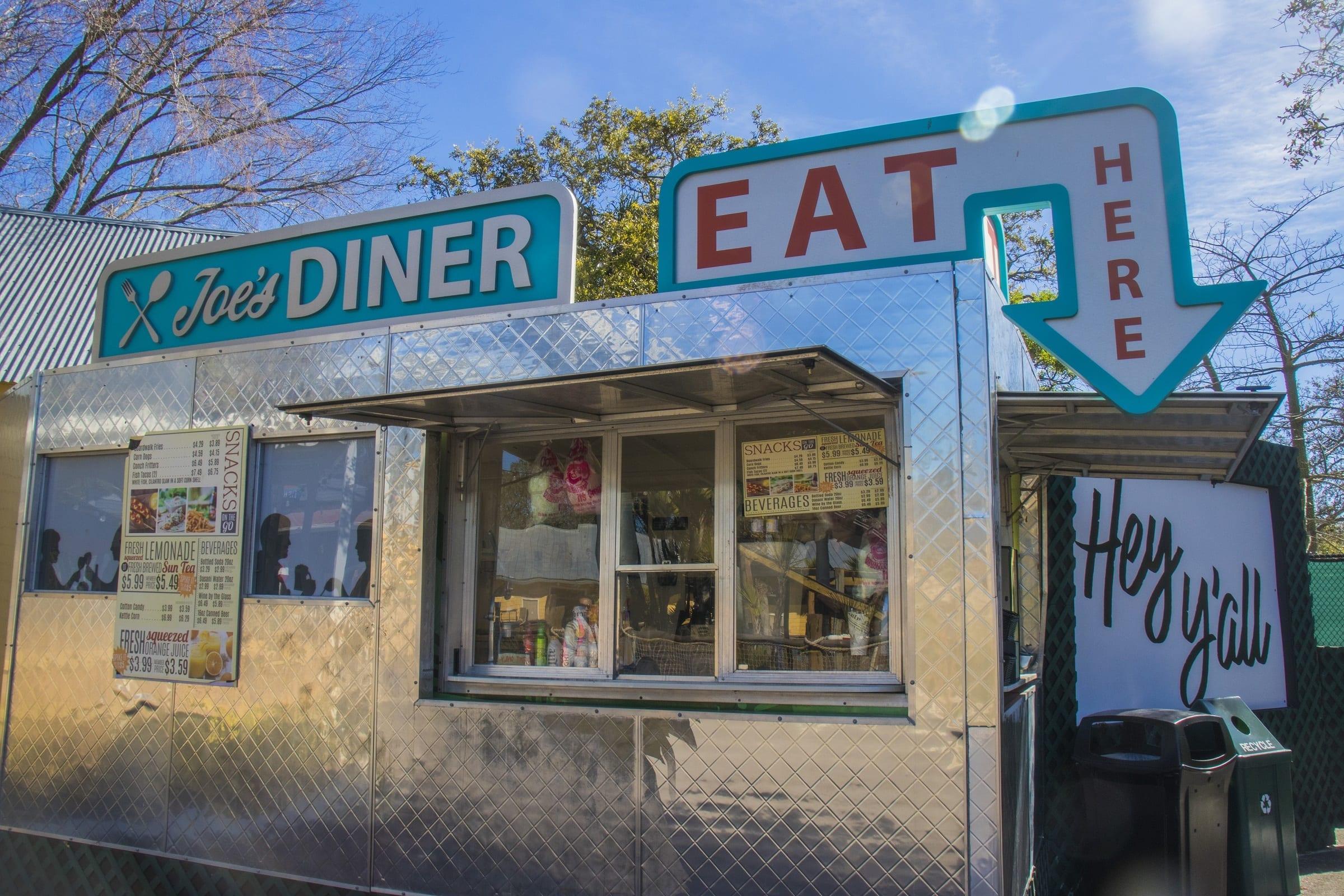 joes diner food truck zootampa