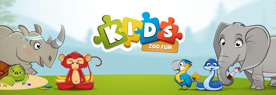 Kids Zoo Fun game teaser