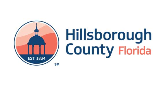 Logo for Hillsborough County, Florida