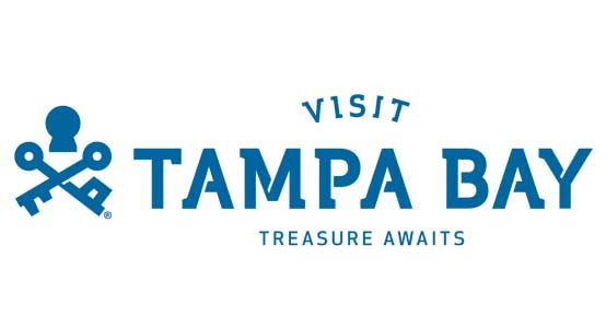 Logo for Visit Tampa Bay