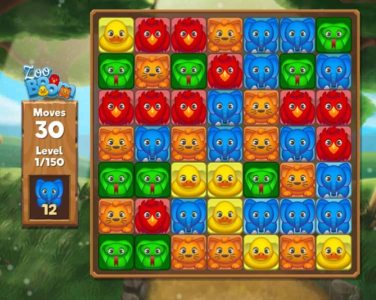 Zoo Boom game teaser