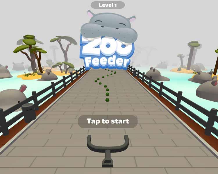 Zoo Feeder game teaser