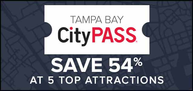 Save 54% at 5 Top Attractions with Tampa Bay CityPASS